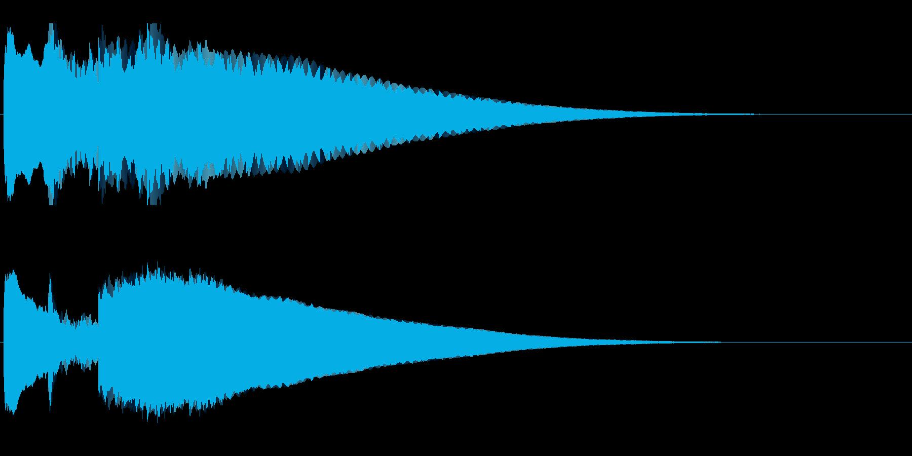 アナウンス前 チャイム-4_rev-2の再生済みの波形