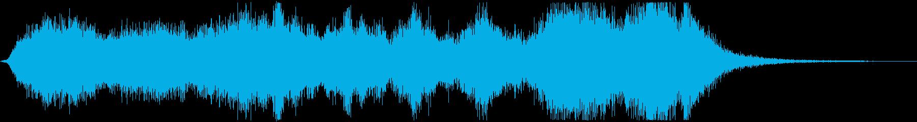 コミカルわくわくオーケストラエンディングの再生済みの波形