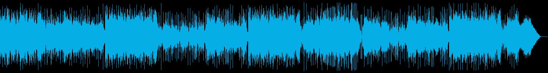 昭和を感じる懐かしいフォークソングの再生済みの波形