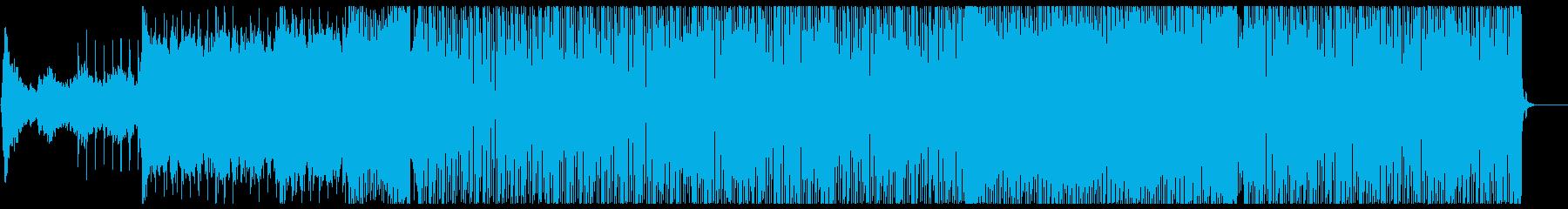 楽しい気分になるフューチャーハウス声有りの再生済みの波形
