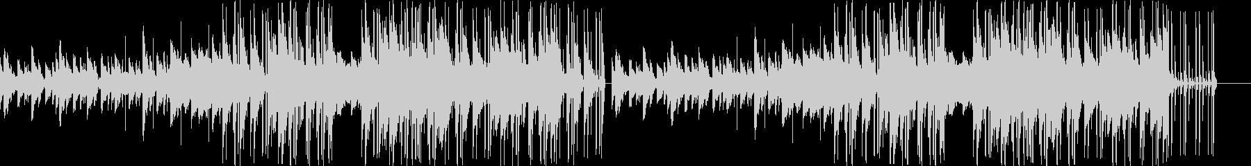 切ないメロディのベルが特徴的なバラードの未再生の波形
