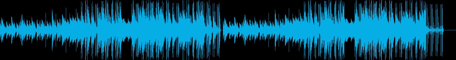 切ないメロディのベルが特徴的なバラードの再生済みの波形