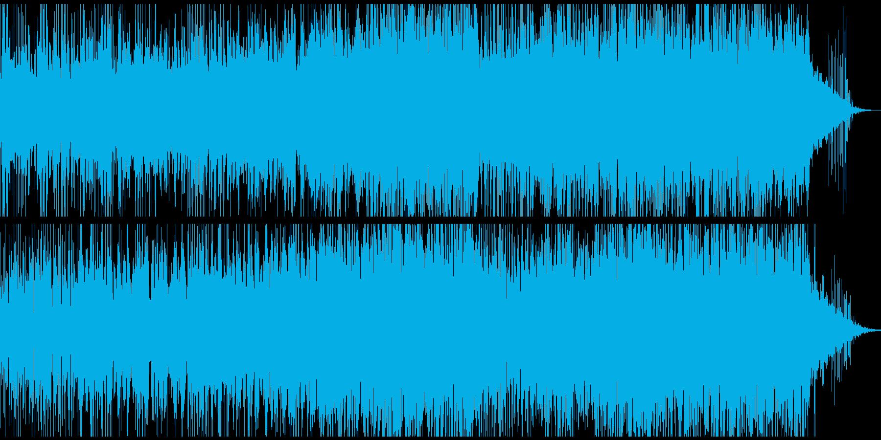和やかなアンビエントの再生済みの波形