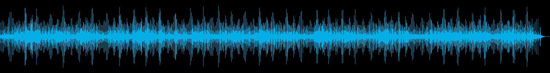 [生録音]魚釣り、リールを巻く06の再生済みの波形