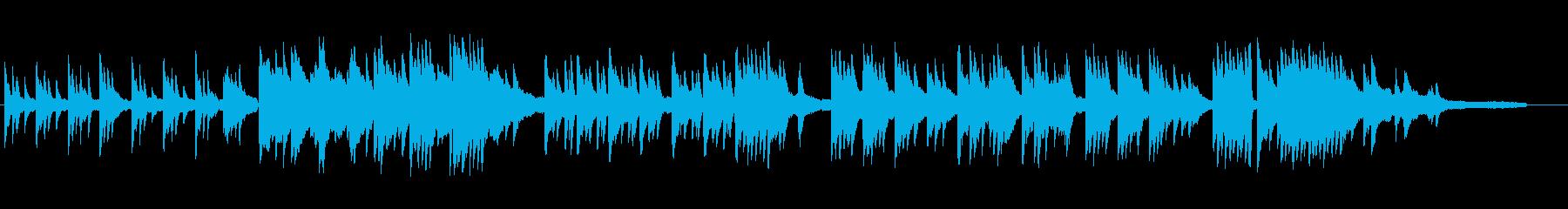 素朴でドラマチックなピアノソロの再生済みの波形