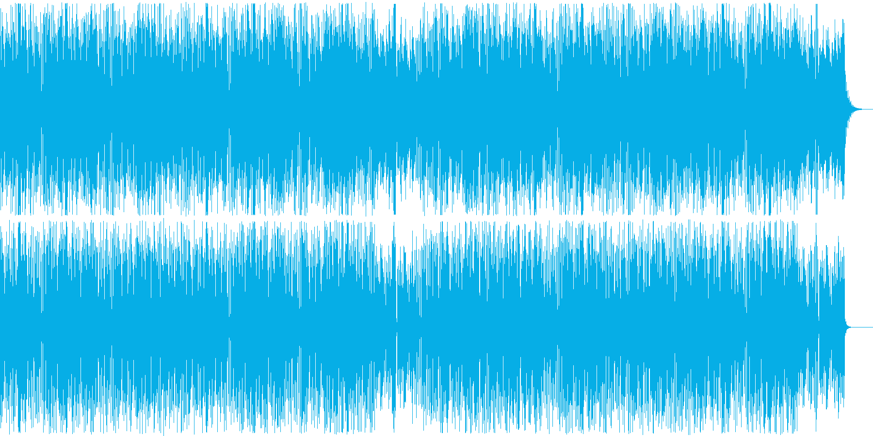 Gentle, warm and refreshing everyday atmosphere's reproduced waveform