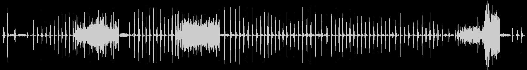 大きなラットチャッタークリーチャー...の未再生の波形