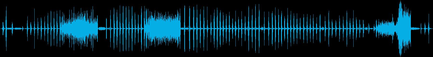 大きなラットチャッタークリーチャー...の再生済みの波形
