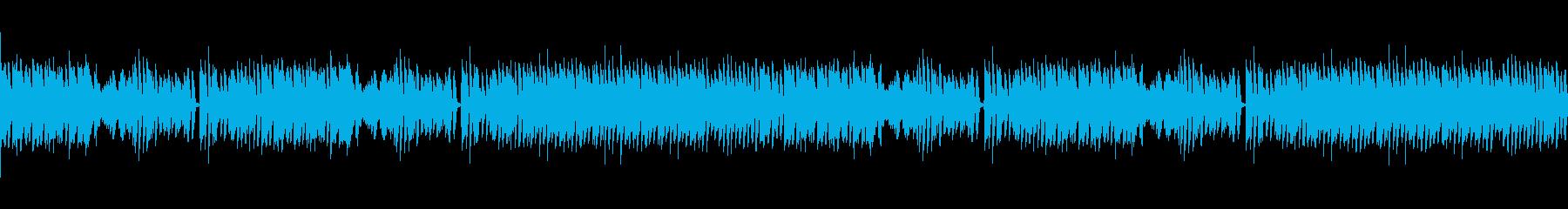 メイプルリーフラグ ピアノの再生済みの波形