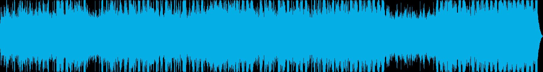 シーケンス 電子01の再生済みの波形