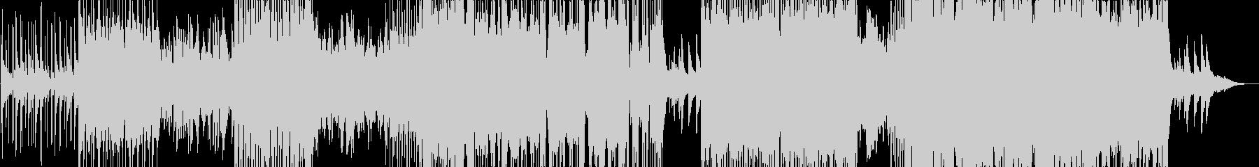 女性英語Voのエレクトロ+生ドラムの未再生の波形