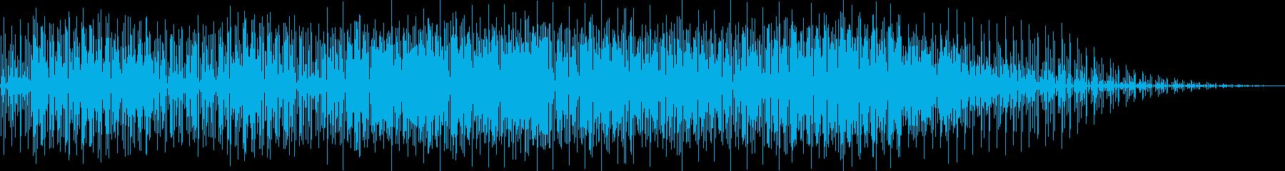 サバイバルなイメージの曲の再生済みの波形
