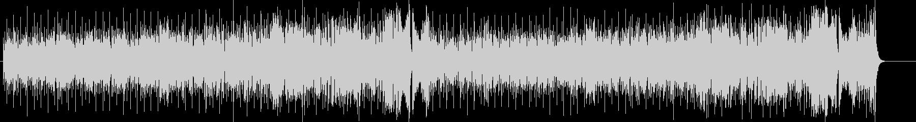 ルーズなR&B/ポップの未再生の波形