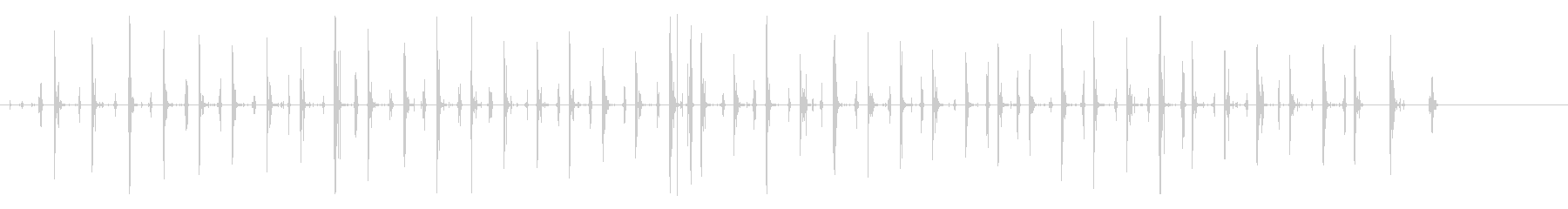 カウボーイブーツ:ジョギング、コン...の未再生の波形