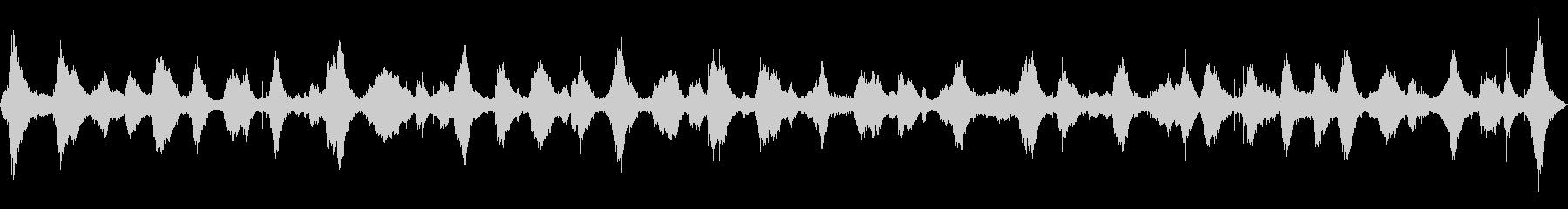 波の音 【大浜海岸、徳島、夏、夕方】の未再生の波形