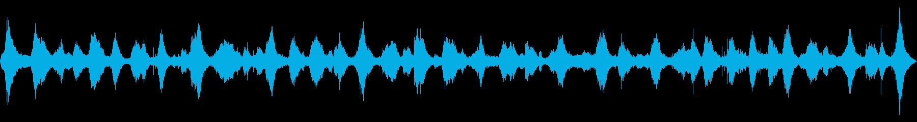 波の音 【大浜海岸、徳島、夏、夕方】の再生済みの波形
