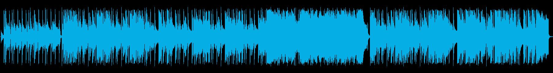 ロック センチメンタル 感情的 や...の再生済みの波形