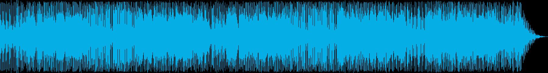 ピアノが印象的なロックの再生済みの波形