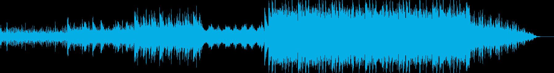 ほんのり和風なBGMの再生済みの波形