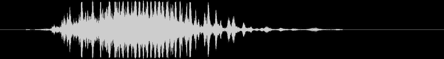 BLEEPSWEEP VERSION 5の未再生の波形