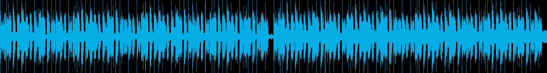おまぬけコミカル/ループの再生済みの波形
