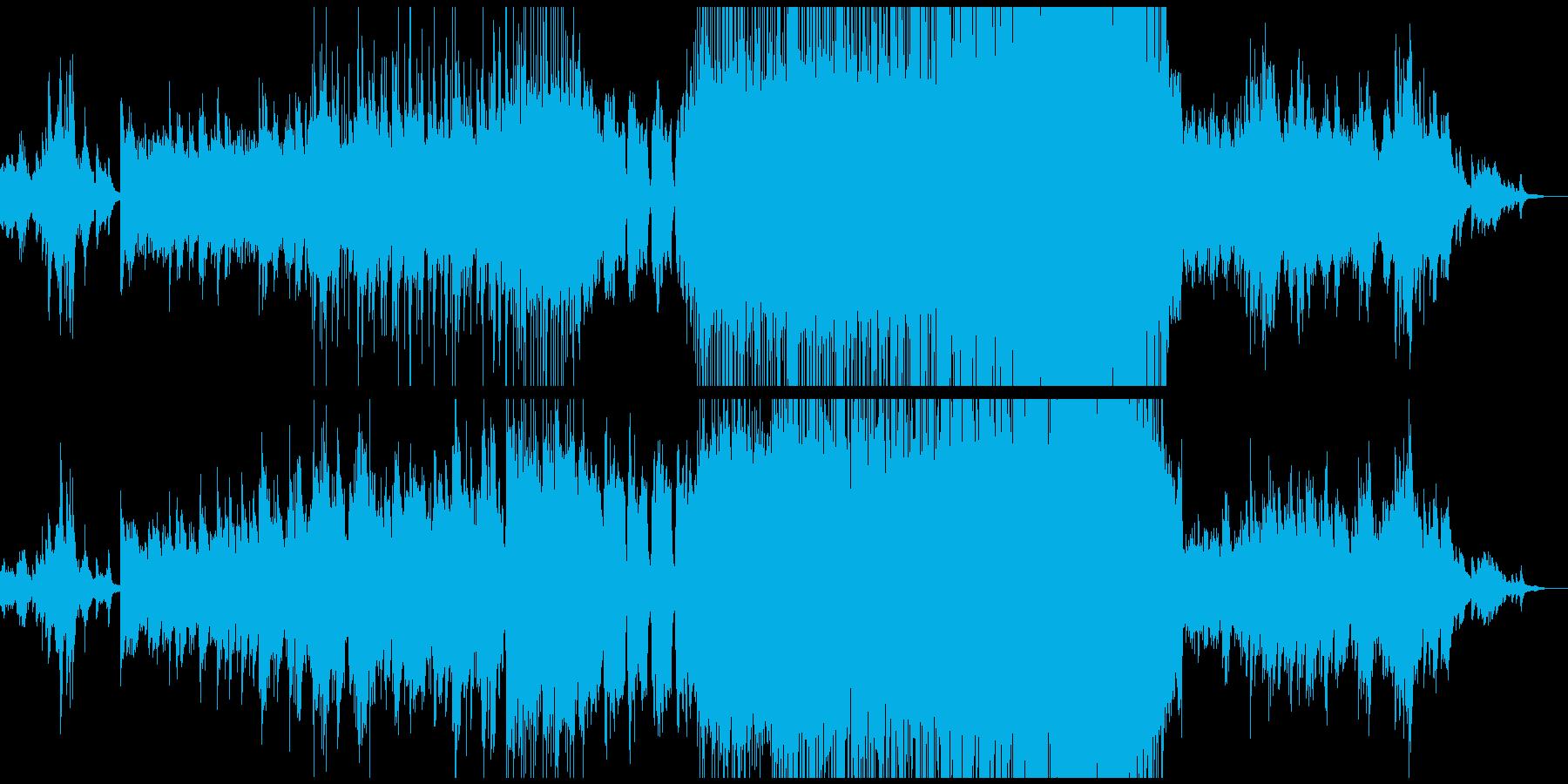 ジャズよりのギターバラード エンディングの再生済みの波形
