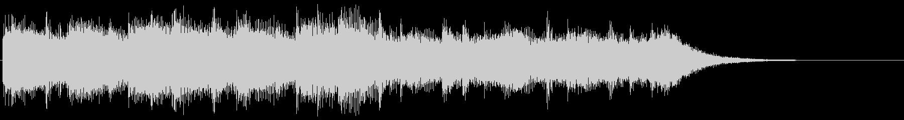 8bitなエンディング ほのぼの場面転換の未再生の波形