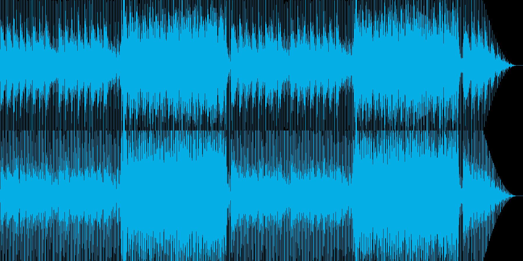 CM向け!明るい・躍動感・爽やかギター曲の再生済みの波形
