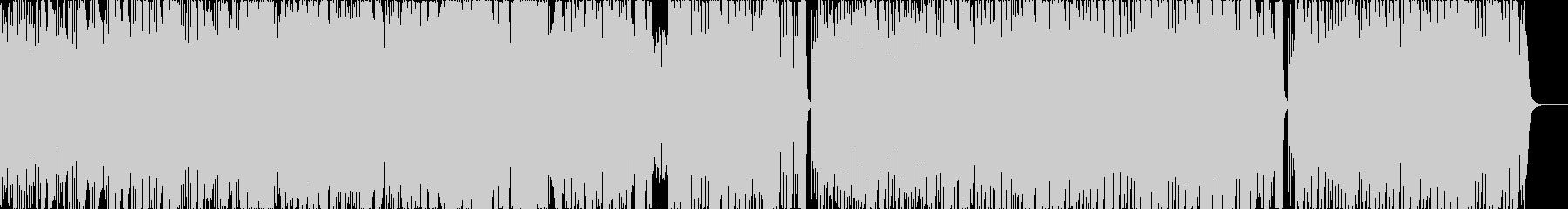 和楽器と声を使ったポップなニューウェーヴの未再生の波形