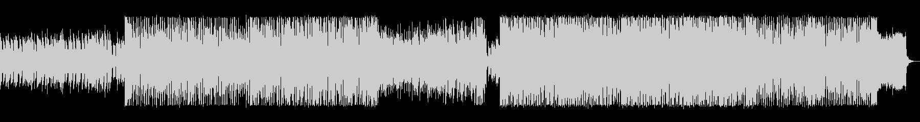 キラキラ、ポップなエレクトロニカの未再生の波形
