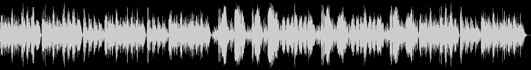 優雅でやさしい、ボッケリーニのメヌエットの未再生の波形