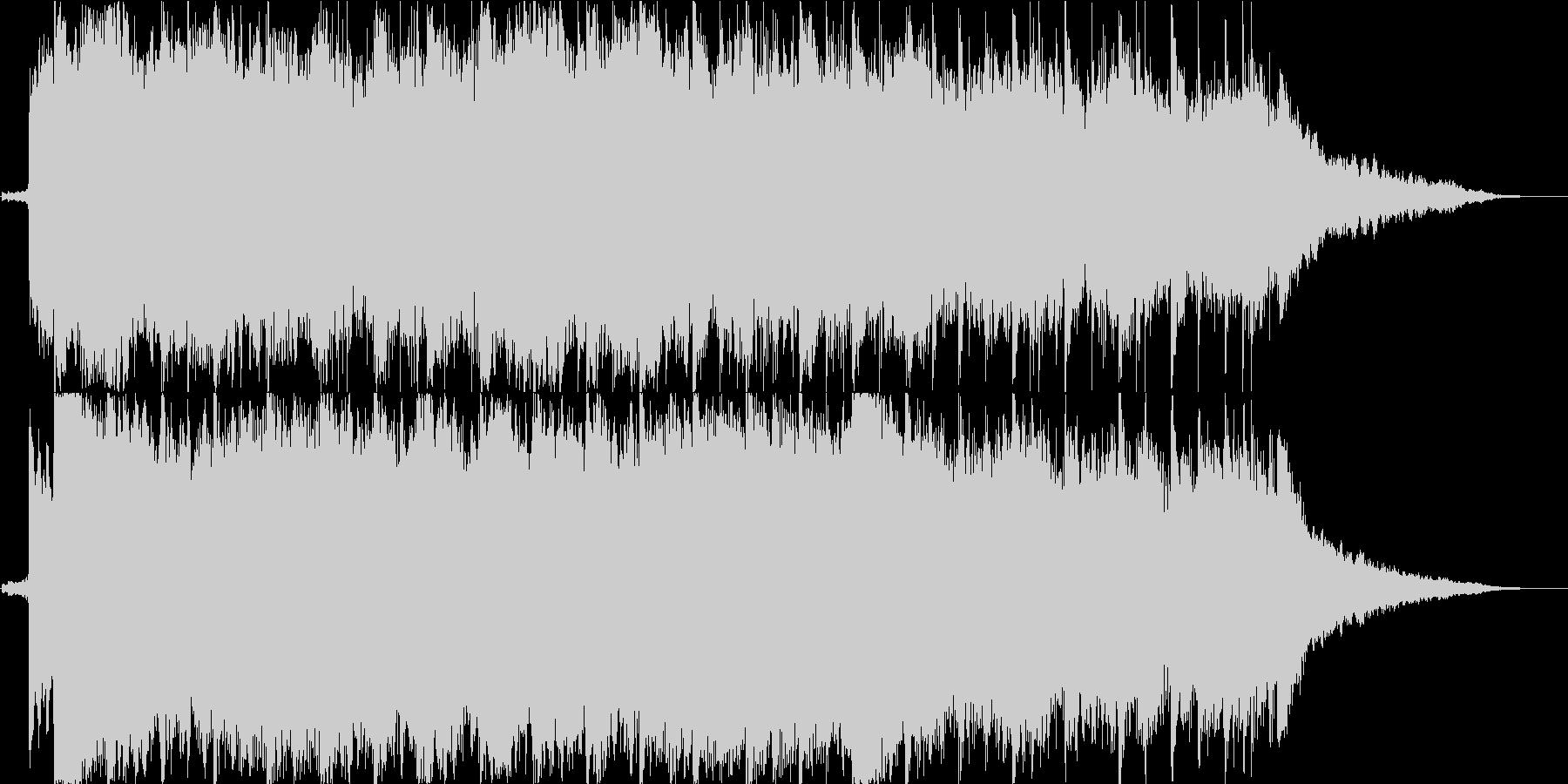 春風のような爽快感のあるピアノBGM の未再生の波形