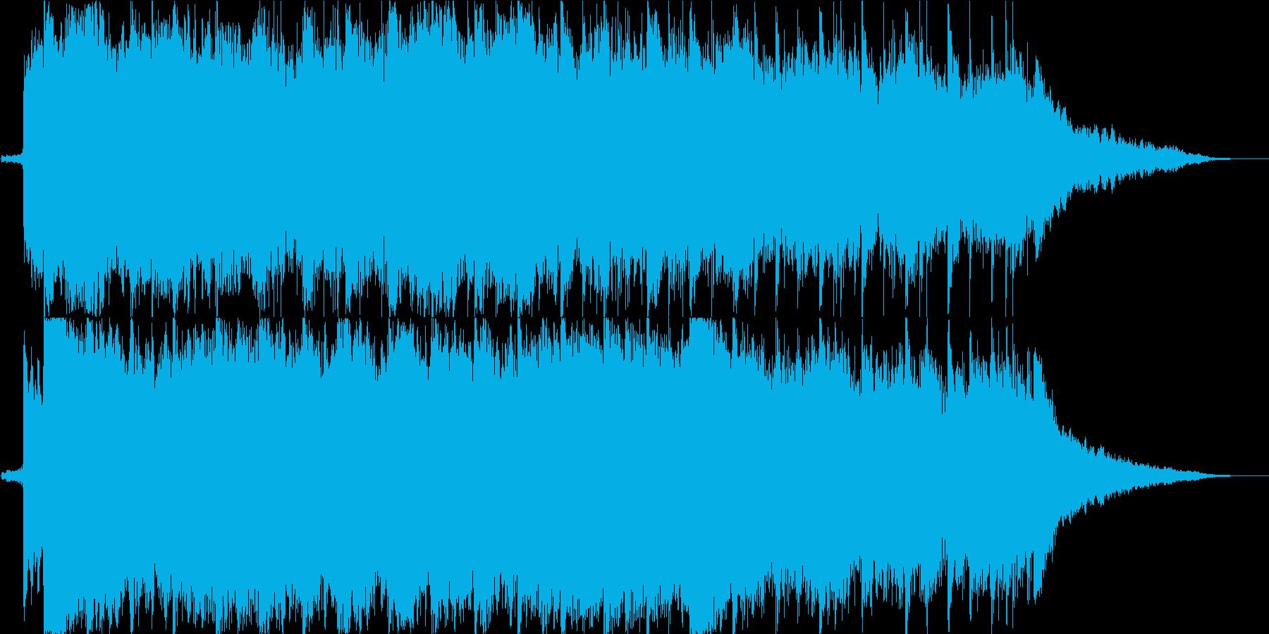 春風のような爽快感のあるピアノBGM の再生済みの波形