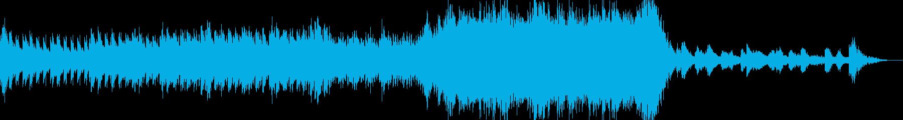 【オーケストラ】ゲームの冒険の始まりの曲の再生済みの波形
