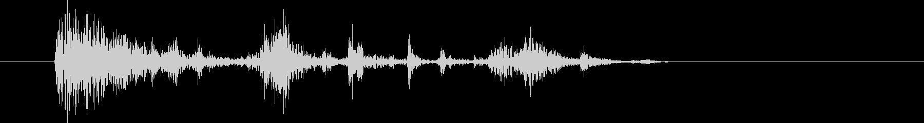 破壊する音02の未再生の波形