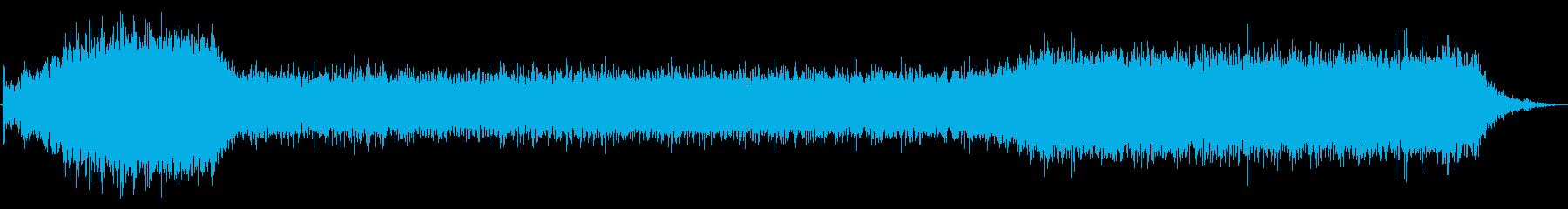 PC 駆動音02-02(オンオフ)の再生済みの波形