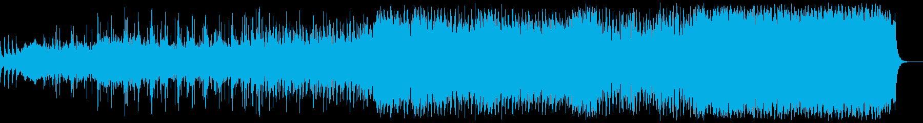 軽快でスケールの大きいミドルテンポの再生済みの波形