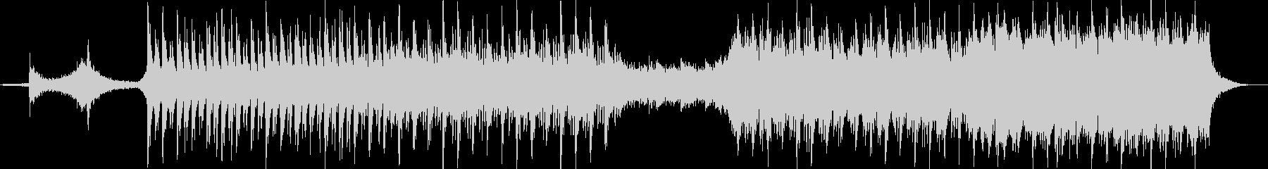 深い弦の歌詞ピアノ、パワフルなウェーの未再生の波形
