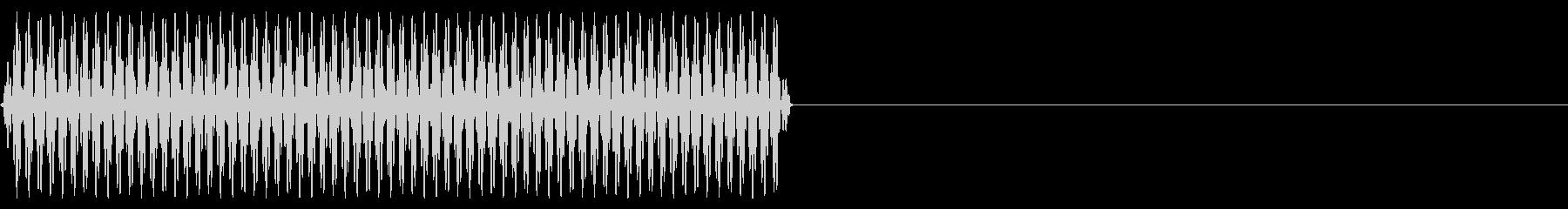 『ピッ』電話のプッシュ音(5)-単音の未再生の波形