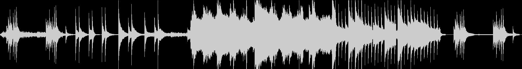ダークファンタジーな雰囲気のBGM-Lの未再生の波形