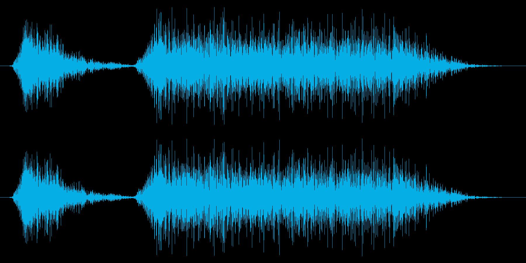 ドラゴン モンスター ゲーム スキルの再生済みの波形