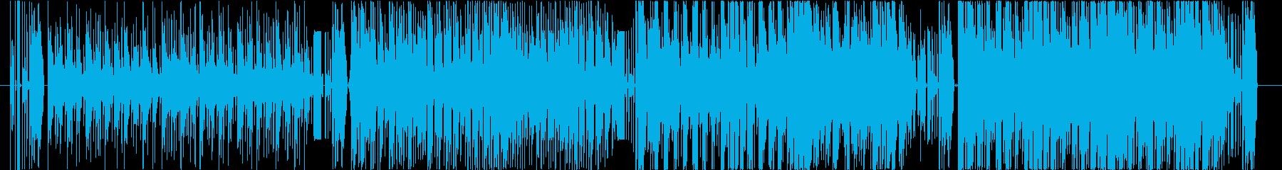 パーカッシブ&シンセ、シリアスな疾走感の再生済みの波形