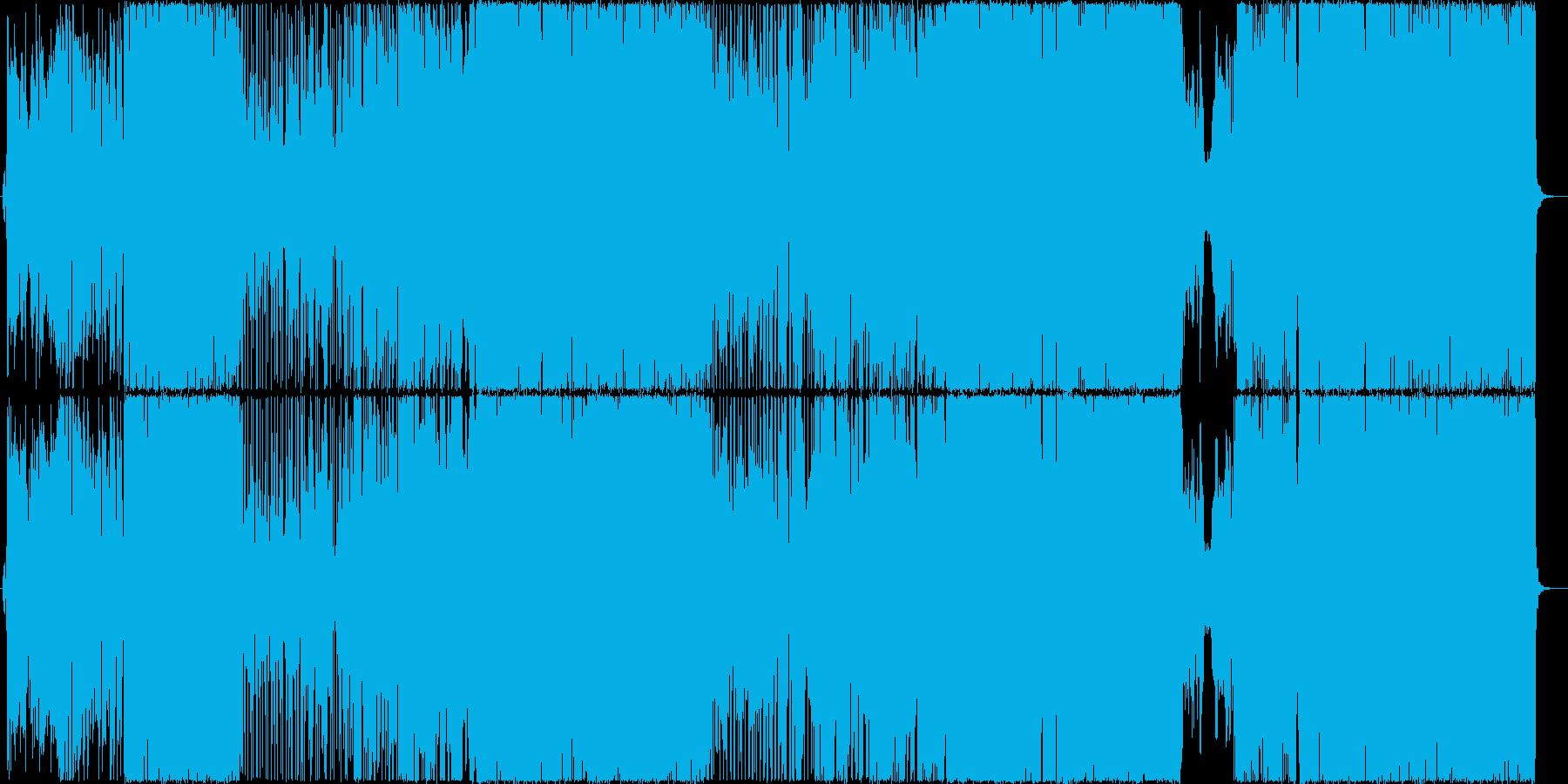 ナニモシラナイの再生済みの波形