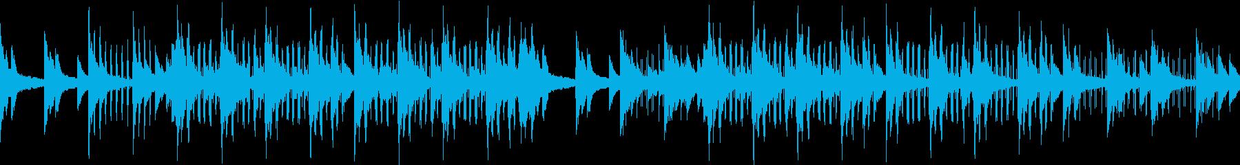 切ない・おしゃれ・寂しげ・ピアノサウンドの再生済みの波形