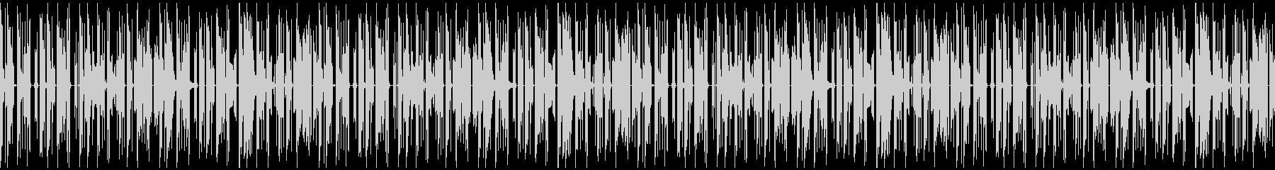 子供の声が入ったエレクトロニカループ:長の未再生の波形