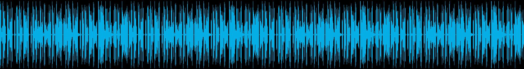 子供の声が入ったエレクトロニカループ:長の再生済みの波形