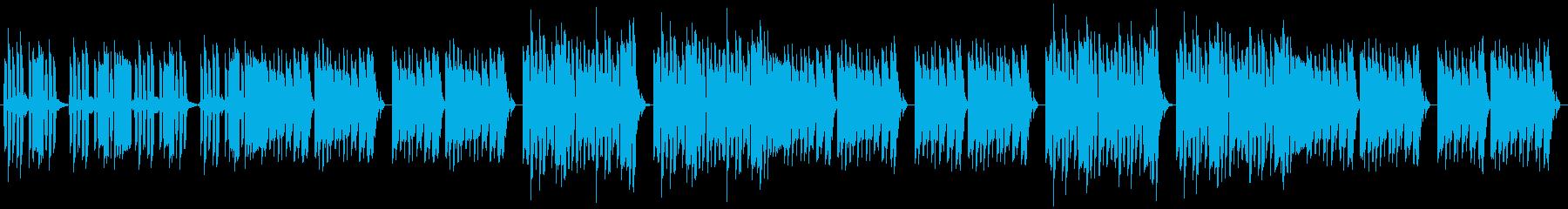 脱力・動物・キッズ・コミカル・リコーダーの再生済みの波形