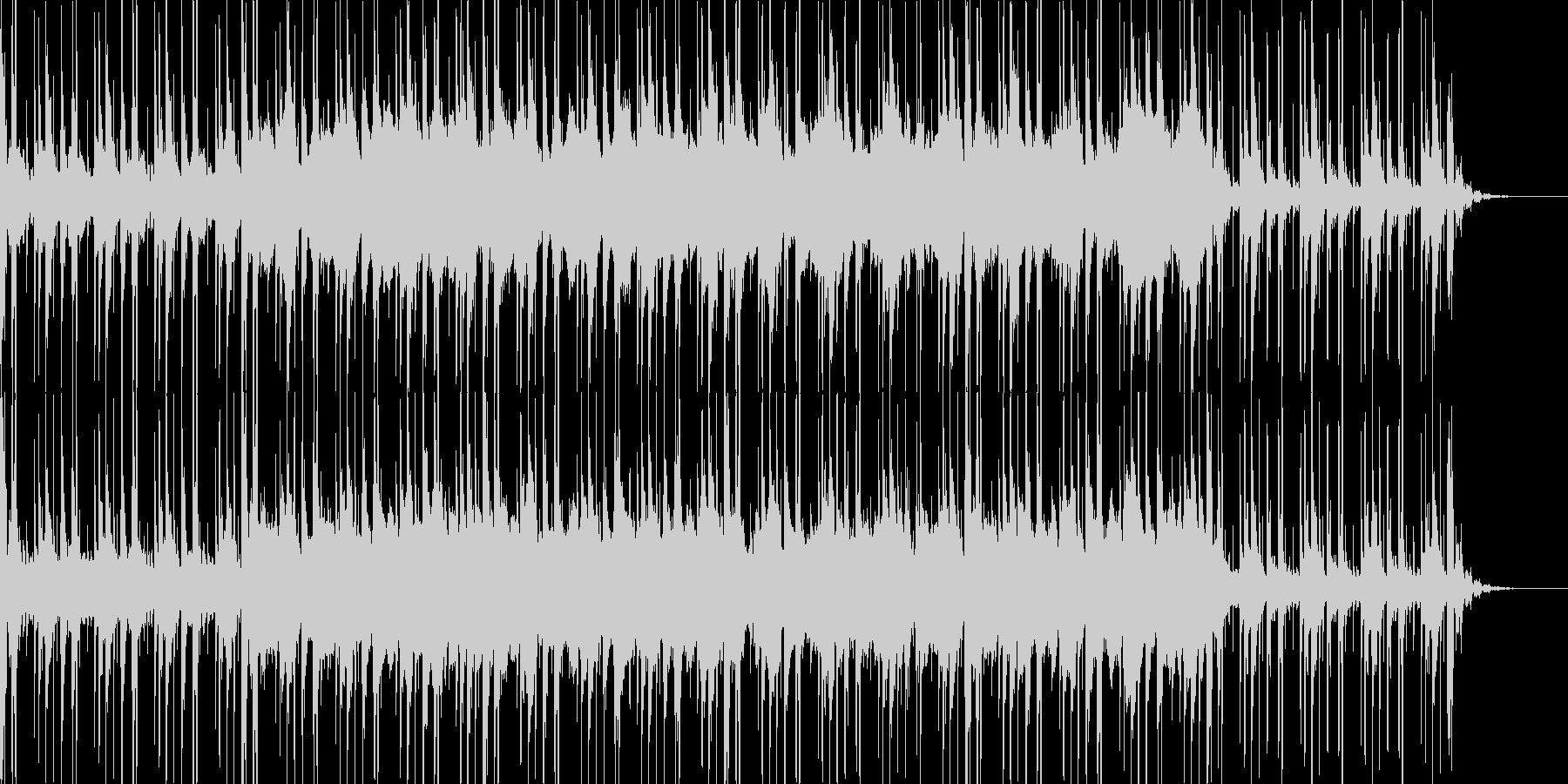 お化け屋敷に最適な奇妙な雰囲気の曲の未再生の波形