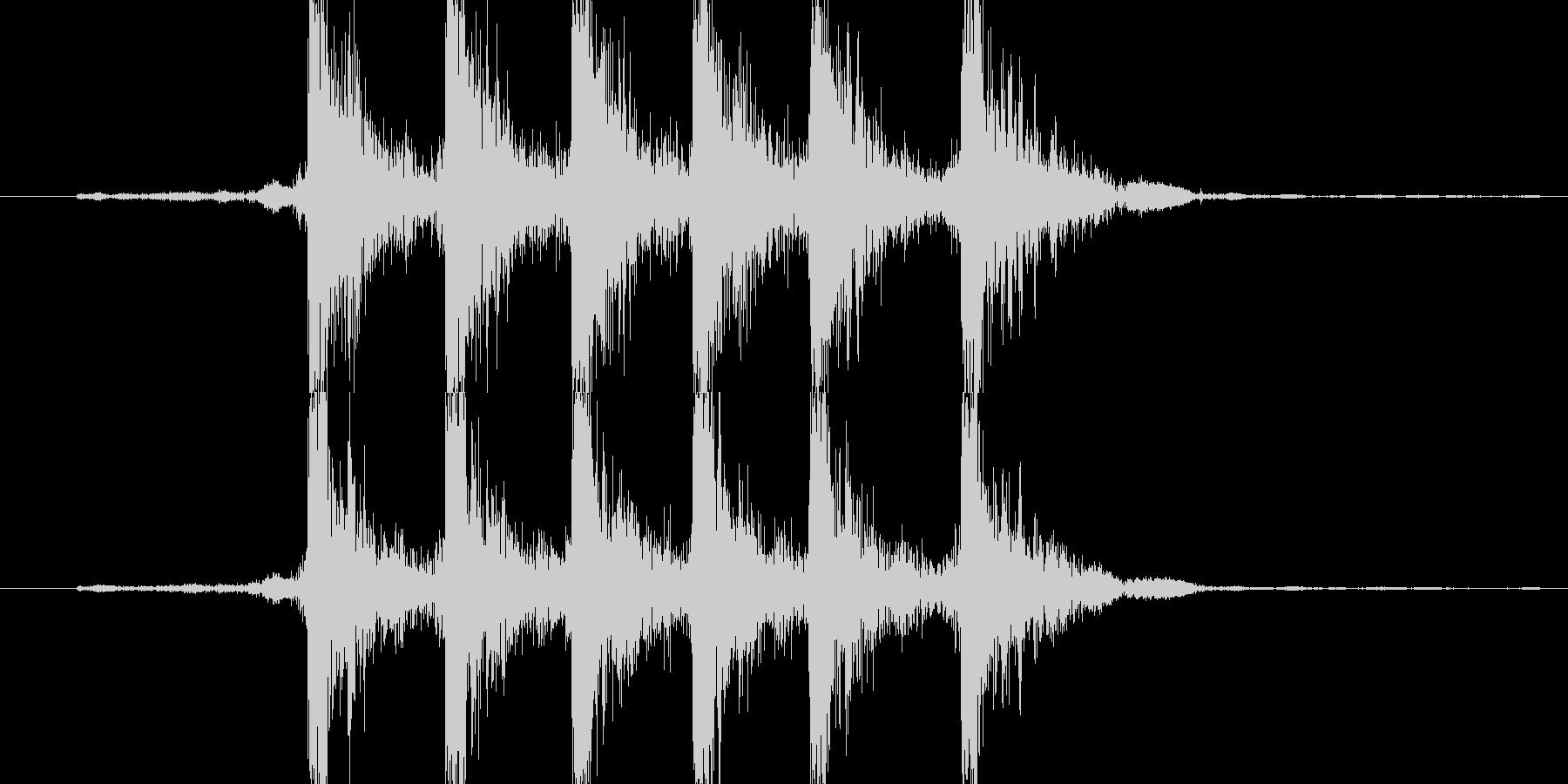 【機械/ロボット系005】ダダダ、カカカの未再生の波形