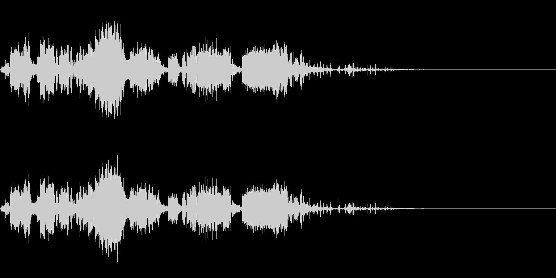 スパーク音-35の未再生の波形